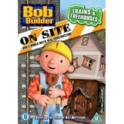Bob The Builder Onsite Trains And Treehouses DVD