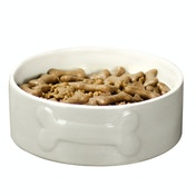 Large Ceramic Dog Bowl | M&W