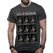 Dc Originals - Moods Of Batman Men's X-Large T-Shirt - Grey