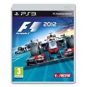 F1 Formula One 2012 Game PS3