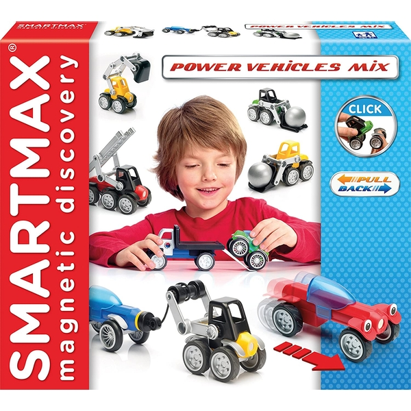 SmartMax Power Vehicles Mix Magnetic Discovery Set