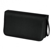 Hama CD Wallet Nylon 80 Black - 00033832
