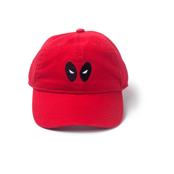 Marvel Comics - Embroidered Eyes Unisex Comfortable Fitting Cap - Red