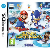 Mario & Sonic At The Olympic Winter Games Vancouver 2010 Game DS