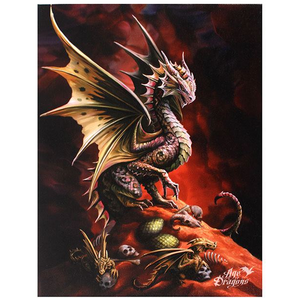 Small Desert Dragon Canvas Picture by Anne Stokes
