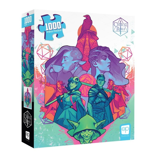 Critical Role: Mighty Nein Jigsaw Puzzle - 1000 Pieces