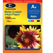 Sumvision A4 Photo Paper 128gsm Matte 100 pack