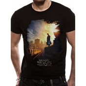 Fantastic Beasts - Train Men's Large T-Shirt - Black