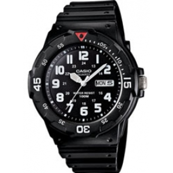 Casio Analogue Men's Watch - Black (MRW200)