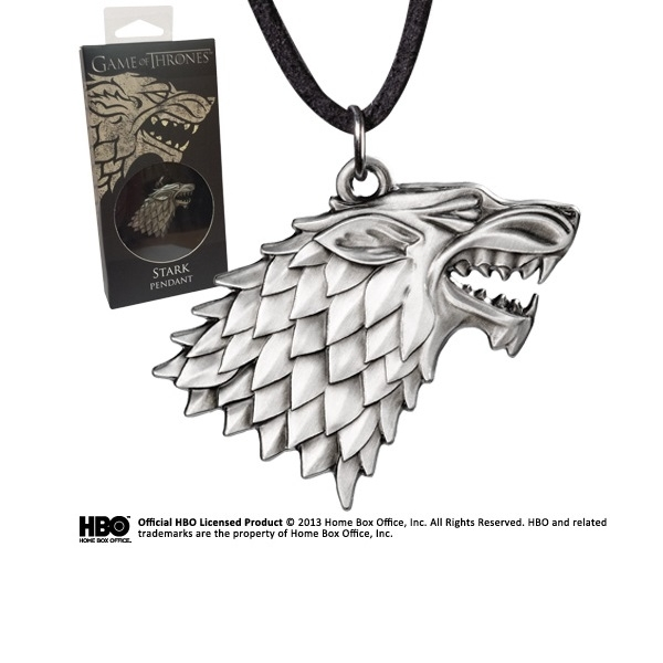 Game of Thrones Stark Sigil Costume Pendant