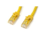 2m Yellow Gigabit Snagless RJ45 UTP Cat6 Patch Cable - 2 m Patch Cord