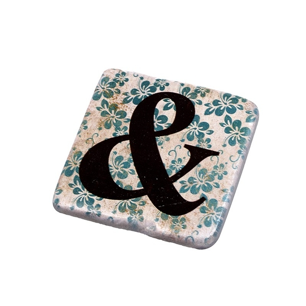 Letter  & Coasters By Heaven Sends