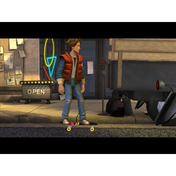 Back to the Future Game PC - Image 2
