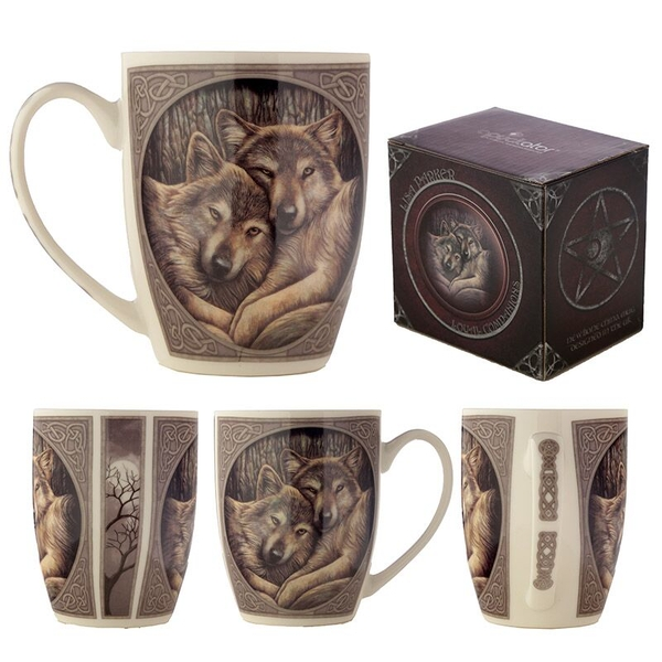 Wolves Loyal Companion New Bone China Mug