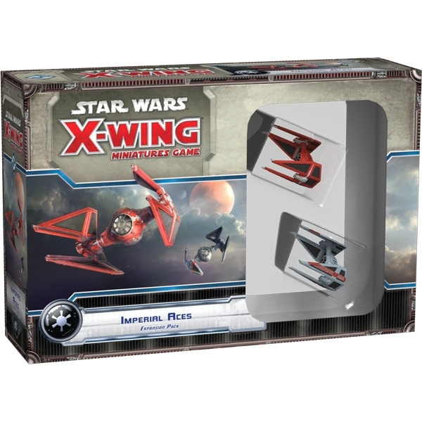 Star Wars X-Wing Imperial Aces Expansion Pack Board Game