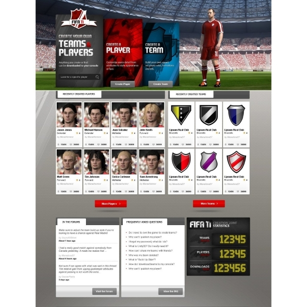 FIFA 11 Game PS3 - Image 7