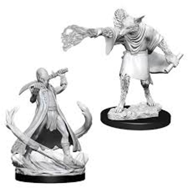 Dungeons & Dragons Nolzur's Marvelous Unpainted Miniatures (W11) Arcanaloth & Ultroloth