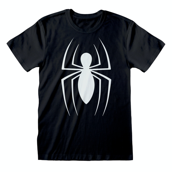 Marvel Comics Spider-man - Classic Logo Unisex XX-Large T-Shirt - Black