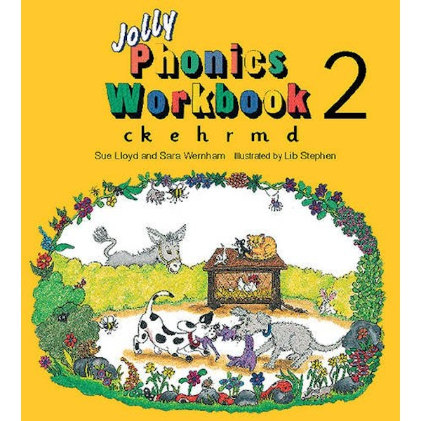 Jolly Phonics Workbook 2: in Precursive Letters (BE) by Sue Lloyd, Sara Wernham (Paperback, 1995)