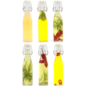 Set of 6 Clip Top Preserve Bottles | M&W 500ml