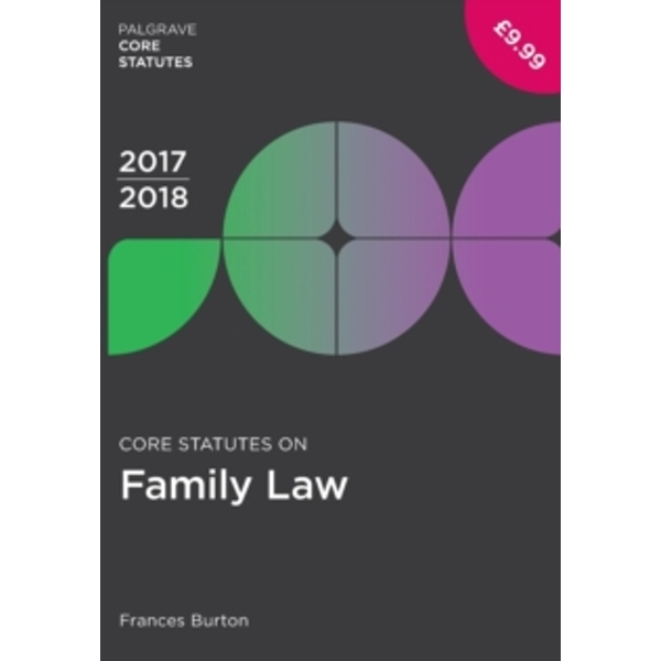 Core Statutes on Family Law 2017-18