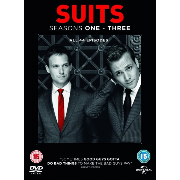 Suits 1-3 DVD