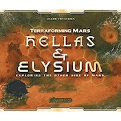 Terraforming Mars: Hellas & Elysium Expansion Board Game