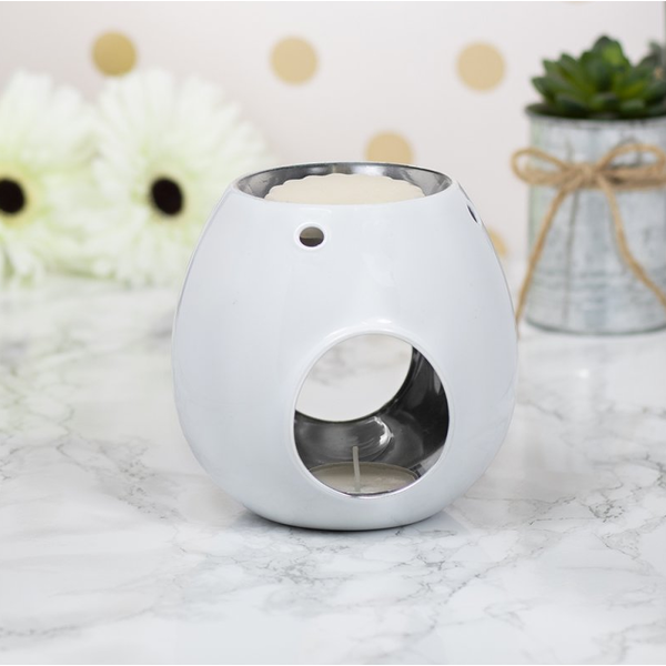 Wax/oil Warmer White by Lesser & Pavey