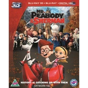 Mr. Peabody & Sherman 3D Blu-ray & UV Copy