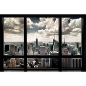 New York Window Maxi Poster