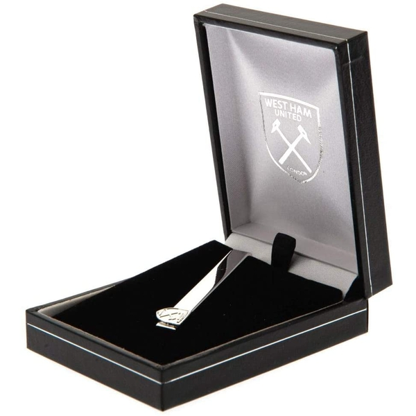 West Ham United FC Silver Plated Tie Slide