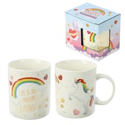Enchanted Rainbows Unicorn New Bone China Mug