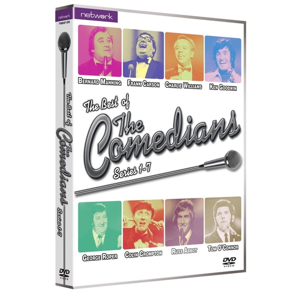 The Comedians - Series 1-7 DVD 7-Disc Set