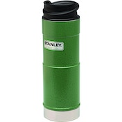 Stanley Classic One Handed Vacuum Mug, Green - 0.35L