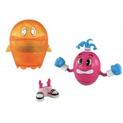 Pacman Pac Panic Battle Spinners Spiral and Clyde