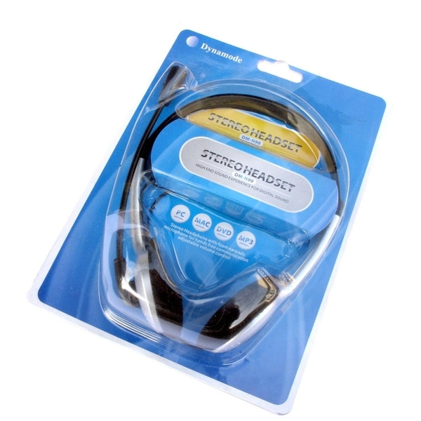 Image of Dynamode DM-N90 Over-Head Stereo Headset with Microphone