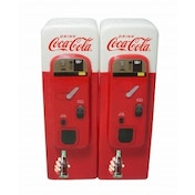 Coca-Cola Ceramic Vending Machine S&P shakers