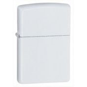 Zippo Regular White Matte Windproof Lighter