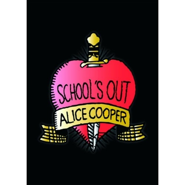 Alice Cooper - School's Out Postcard