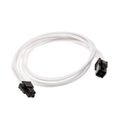 Phanteks 4-Pin Cable Extension 50cm - Sleeved White