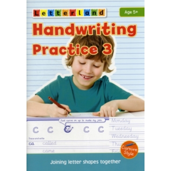 Handwriting Practice: 3: Joining Letter Shapes Together by Lisa Holt (Paperback, 2012)