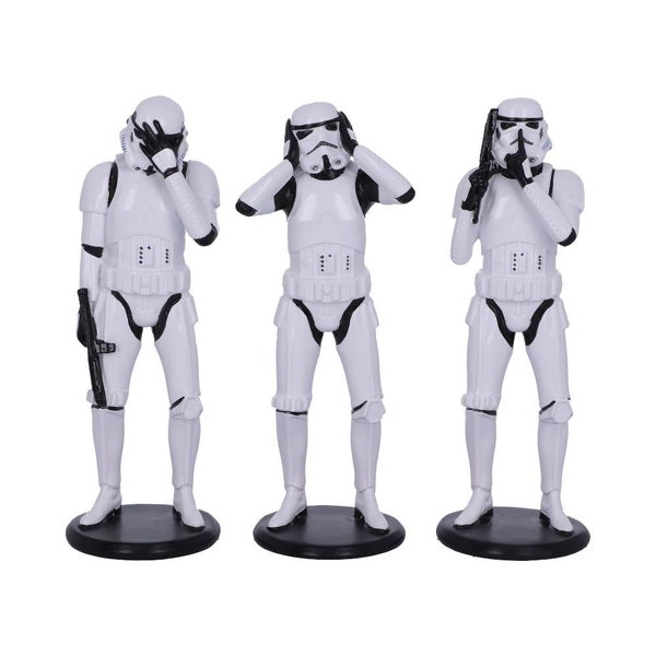 Three Wise Stormtroopers (Star Wars) Figurines