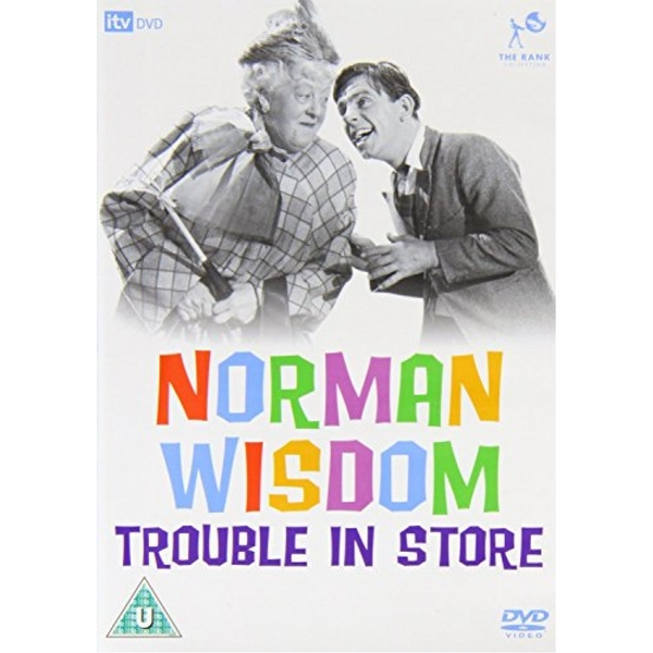 Norman Wisdom - Trouble In Store DVD