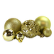 100pc Baubles Pack | M&W Gold - Image 2