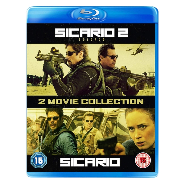 2 Movie Collection: Sicario   Sicario 2: Soldado  Blu-ray