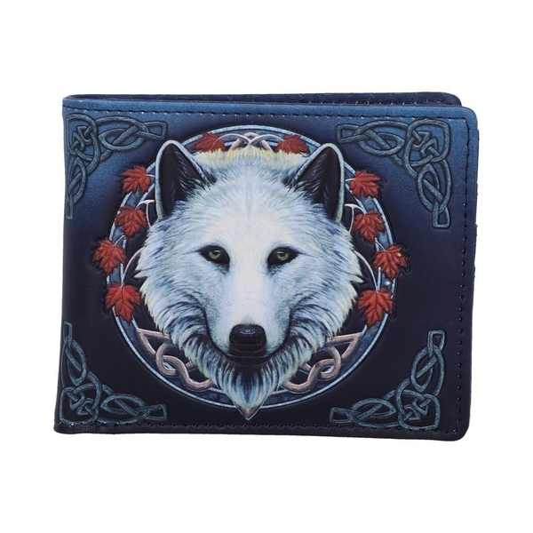 Guardian of the Fall Wolf Wallet
