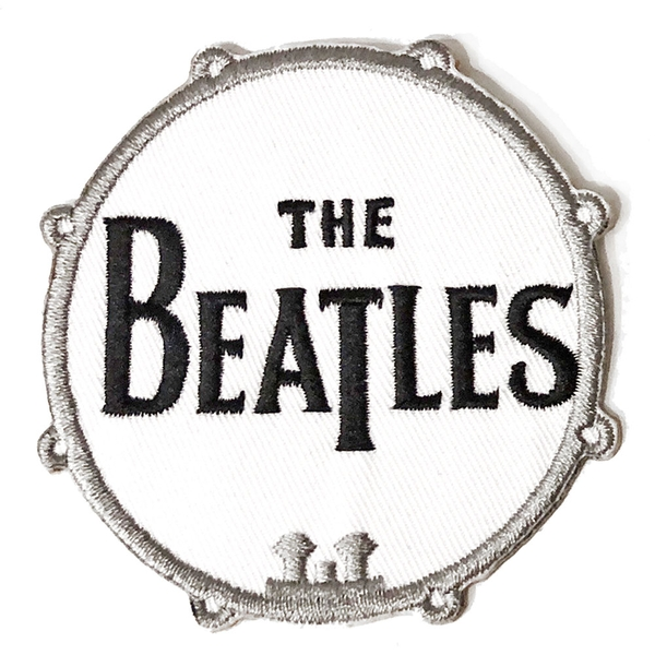 The Beatles - Drum Logo Standard Patch