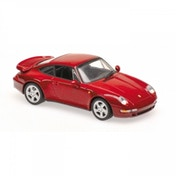 Maxichamps 1997 Porsche 911 Turbo S - Red Metallic 1:43