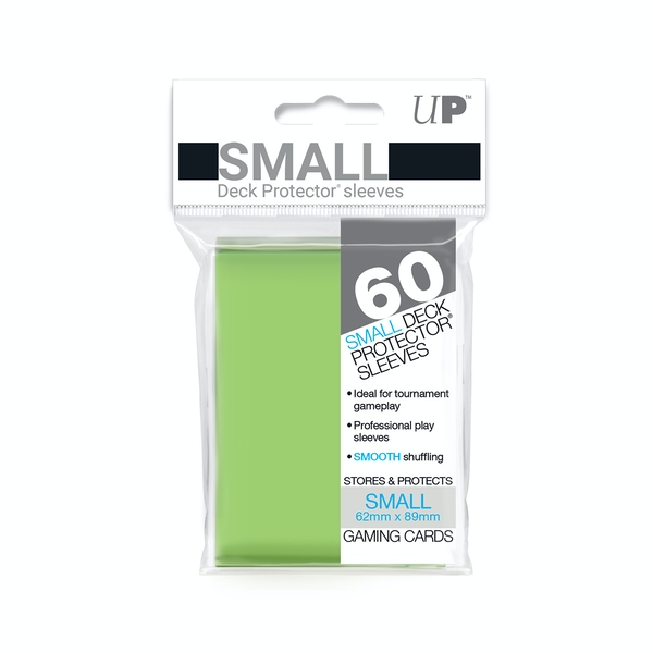Ultra Pro Lime Green Small Deck Protectors - 60 Sleeves