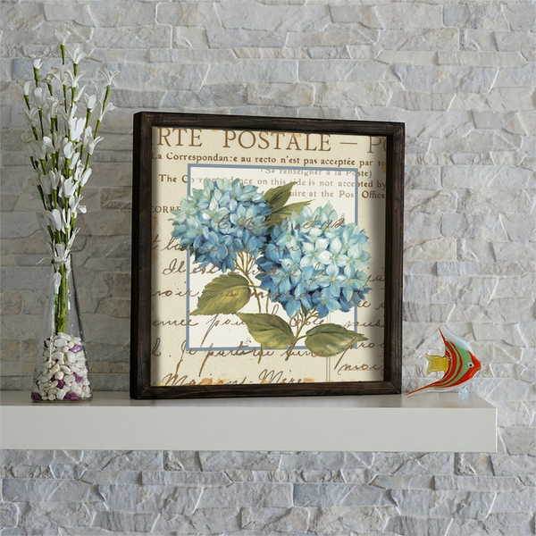 KZM617 Multicolor Decorative Framed MDF Painting